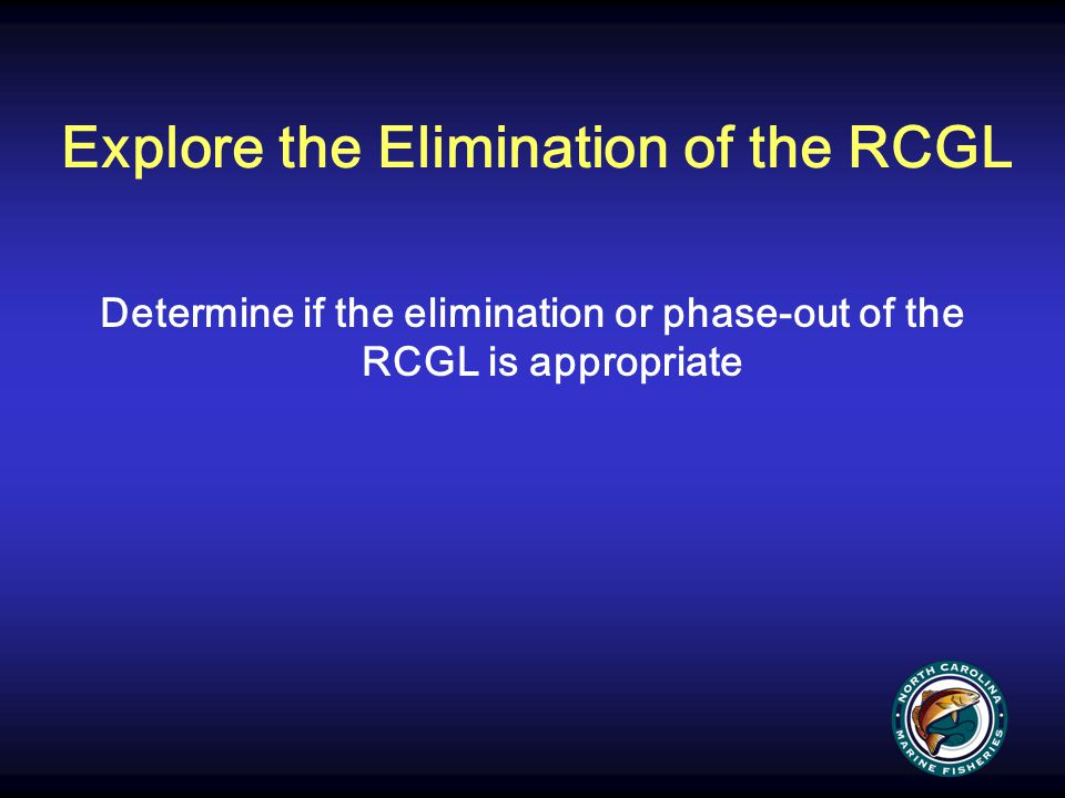 Explore the Elimination of the RCGL