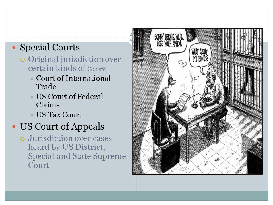 Special Courts US Court of Appeals