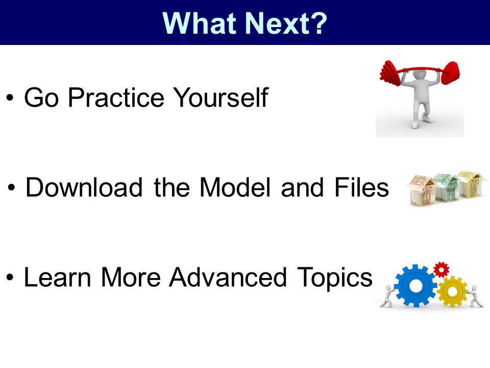 What Next Go Practice Yourself Download the Model and Files