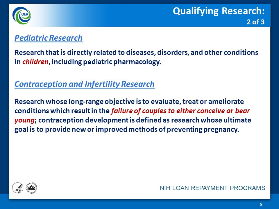 Qualifying Research: 2 of 3