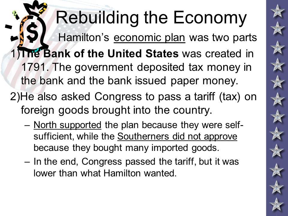 Rebuilding the Economy