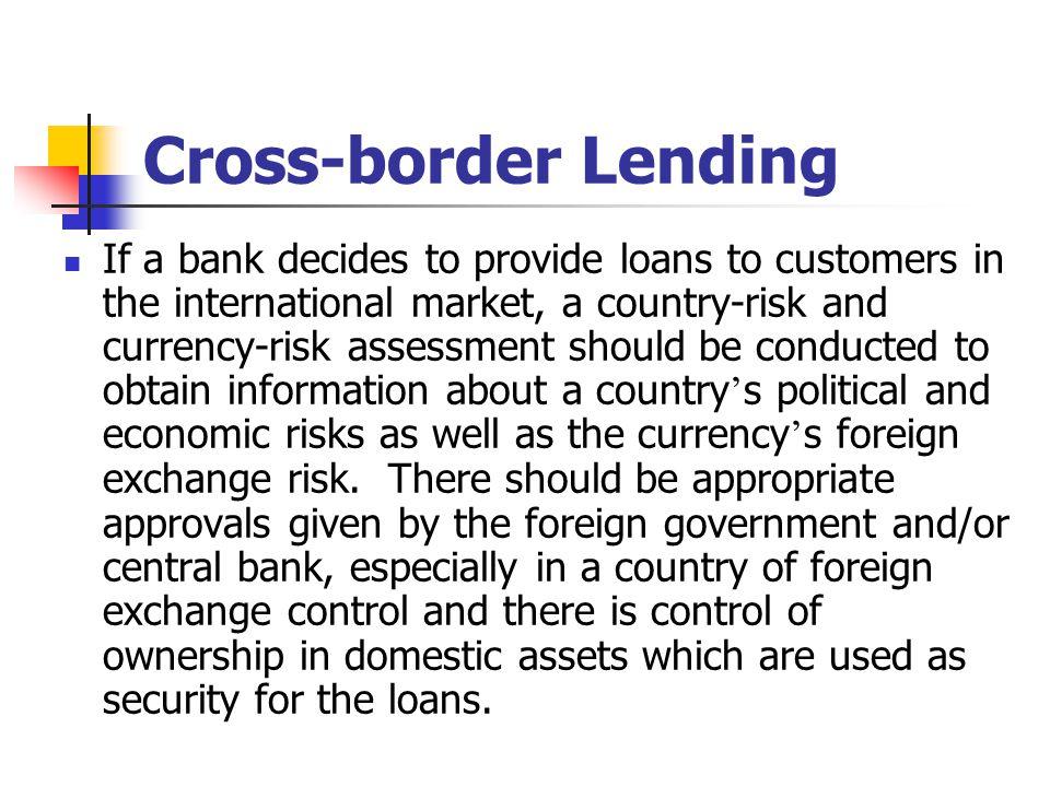 Cross-border Lending