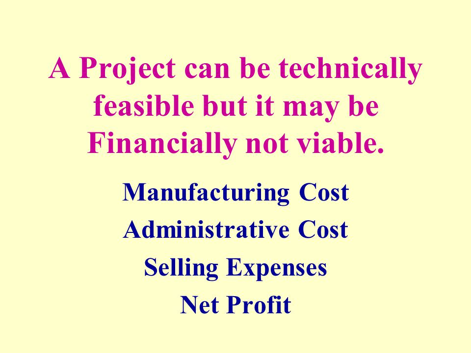 Manufacturing Cost Administrative Cost Selling Expenses Net Profit