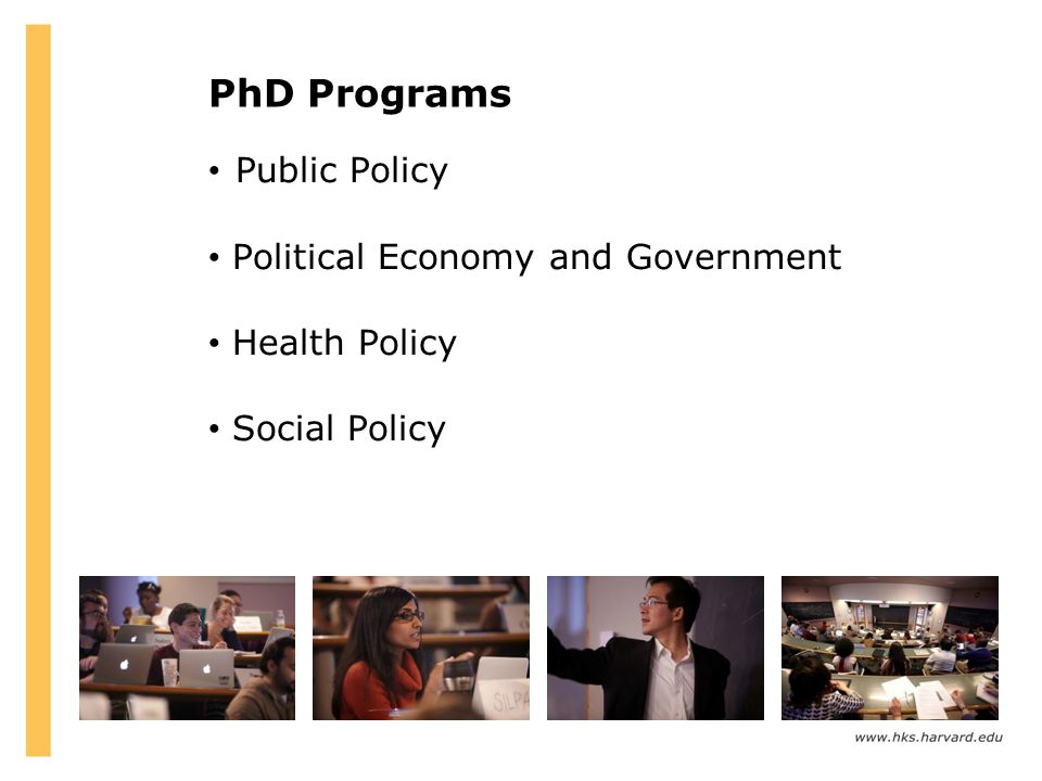 PhD Programs Public Policy Political Economy and Government