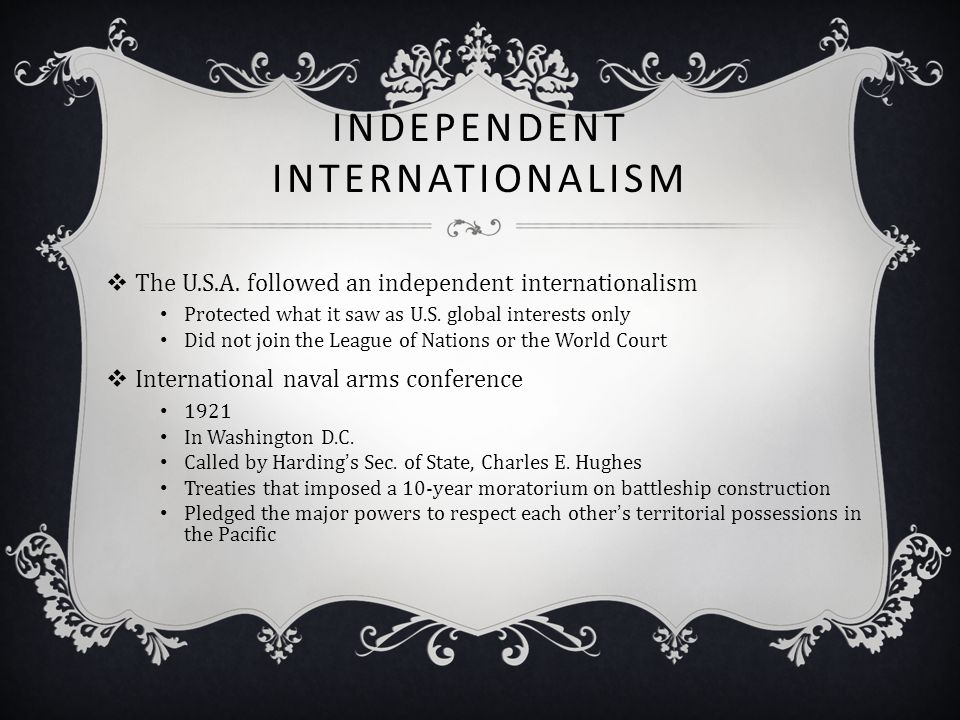 Independent Internationalism