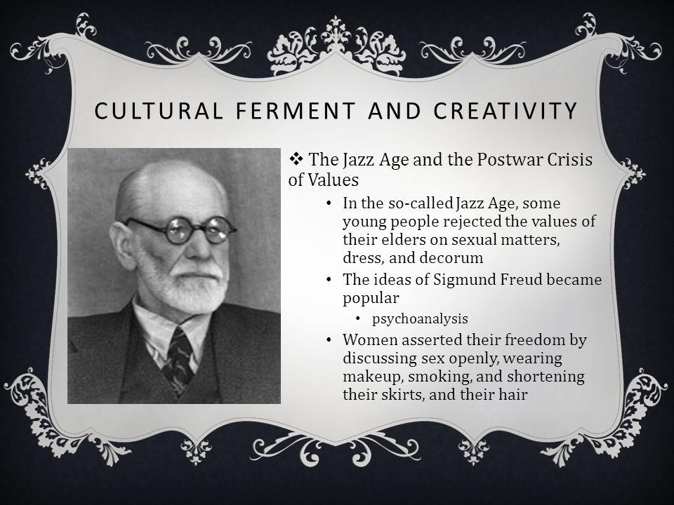 Cultural Ferment and Creativity