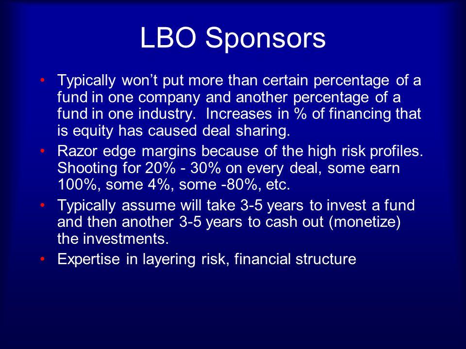 LBO Sponsors