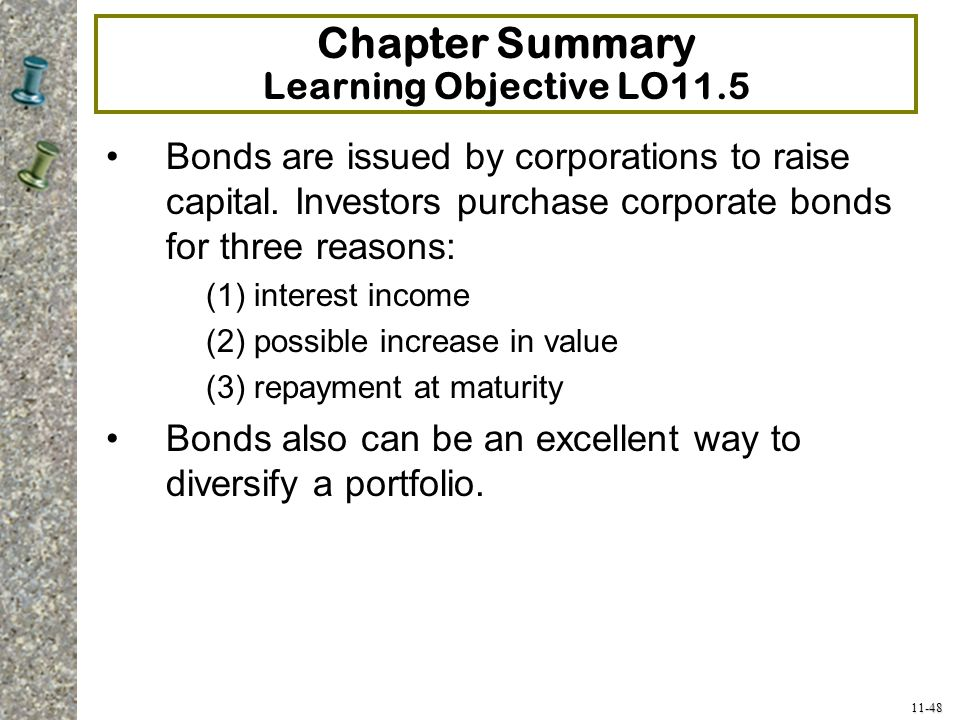 Chapter Summary Learning Objective LO11.5