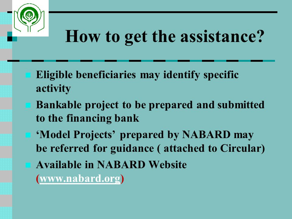 How to get the assistance