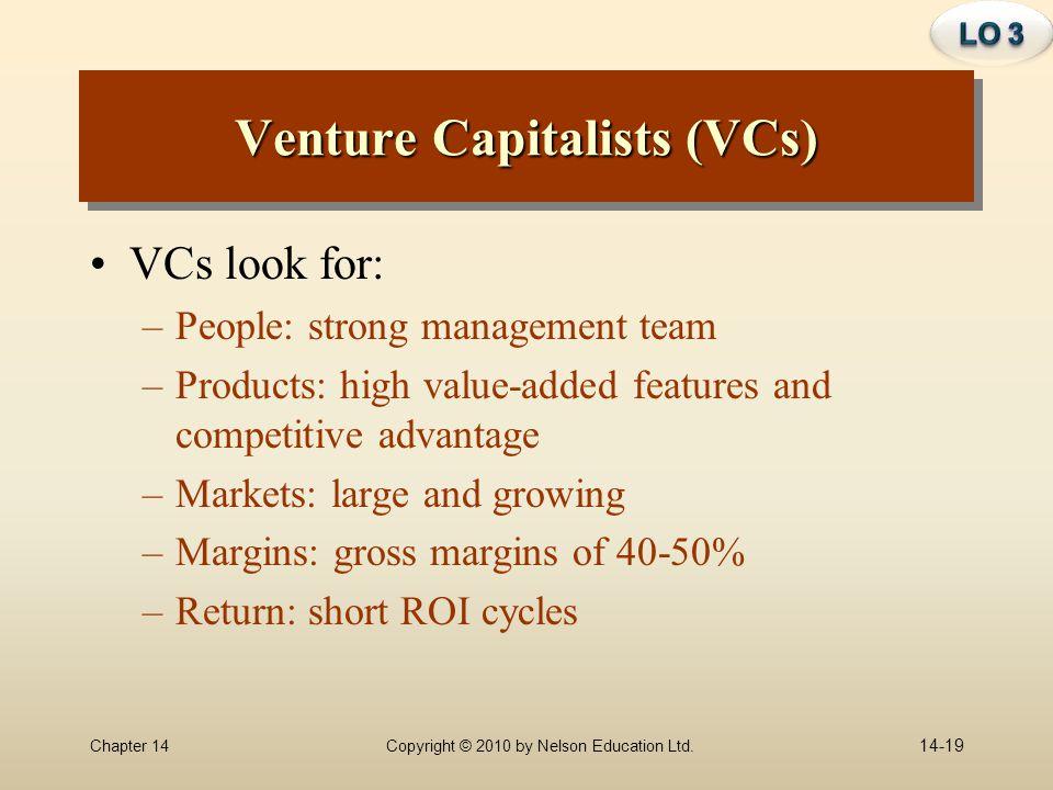 Venture Capitalists (VCs)