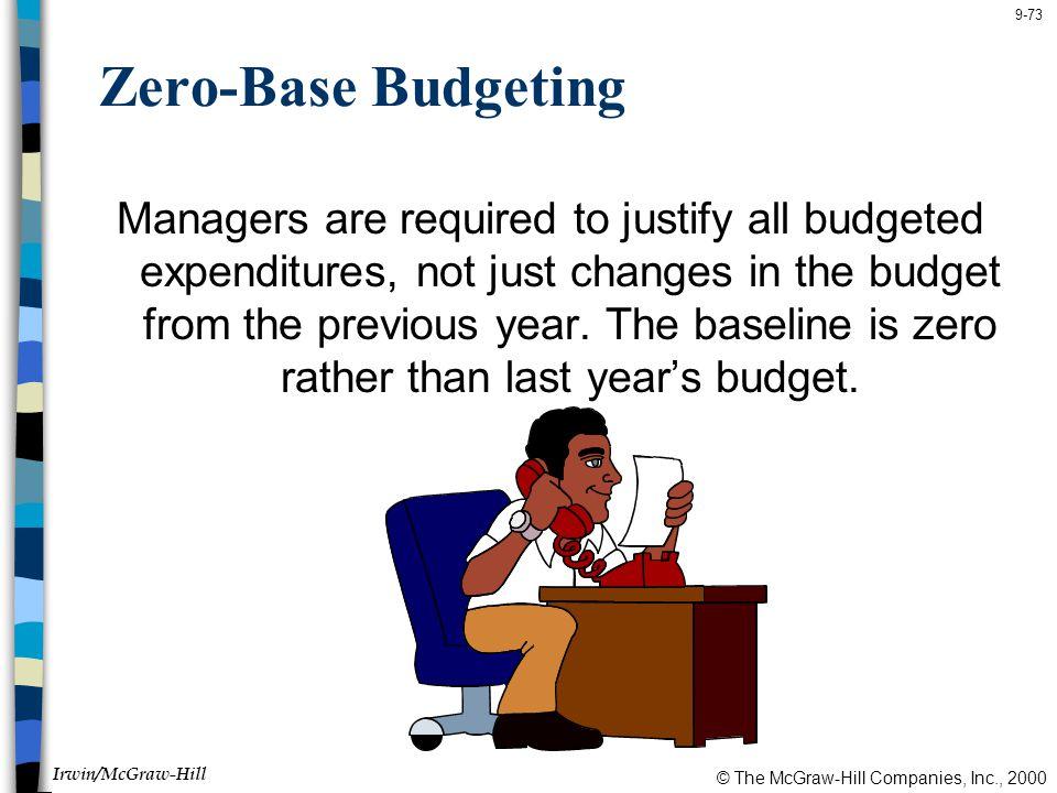 Zero-Base Budgeting