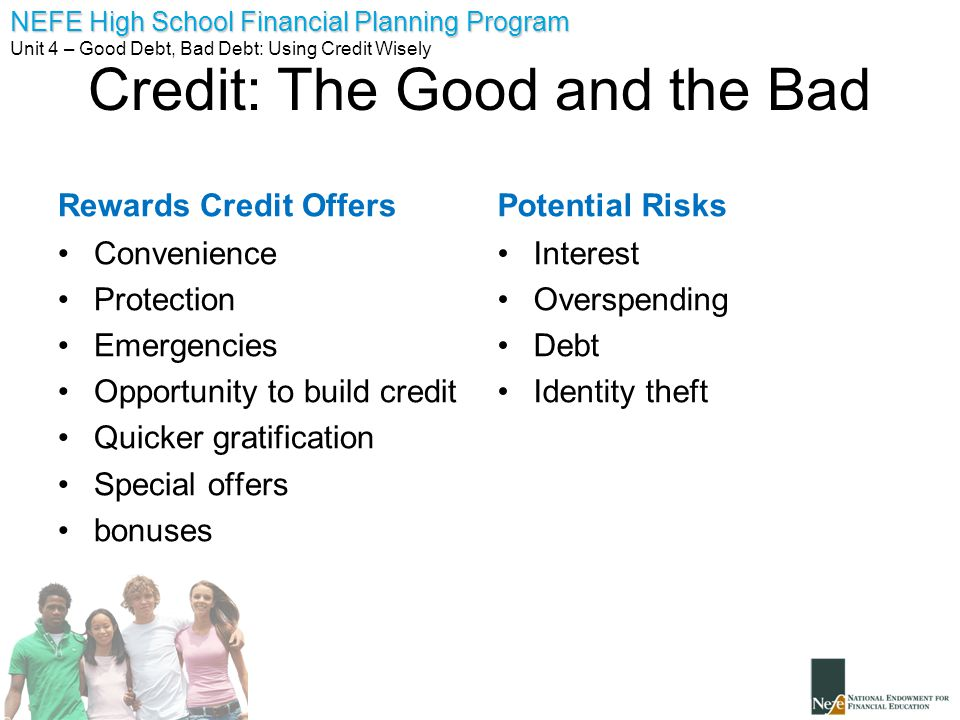 Unit 4 good debt bad debt ppt download 13 credit ccuart Images