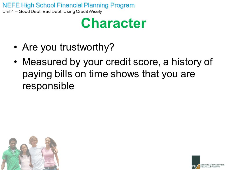 Character Are you trustworthy