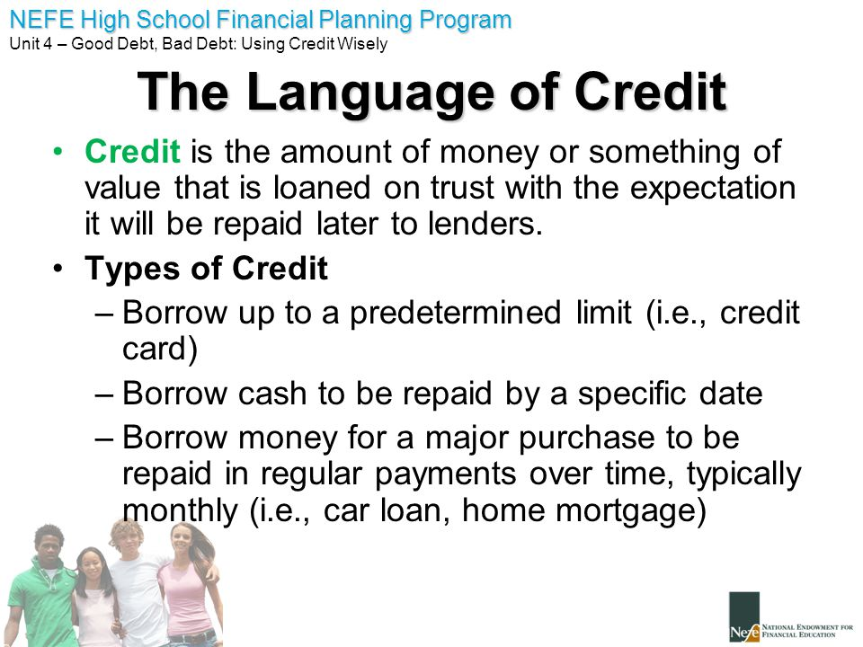 Unit 4 good debt bad debt ppt video online download Borrowing money to build a house