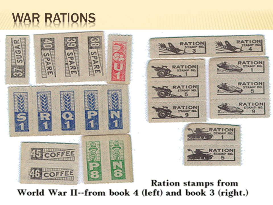 War Rations