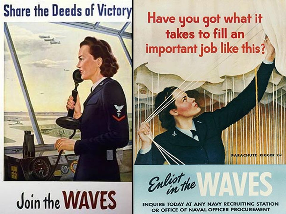 Join the Women's Army Corps (WACs)