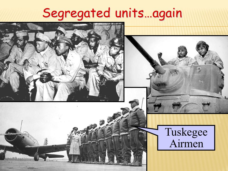Segregated units…again