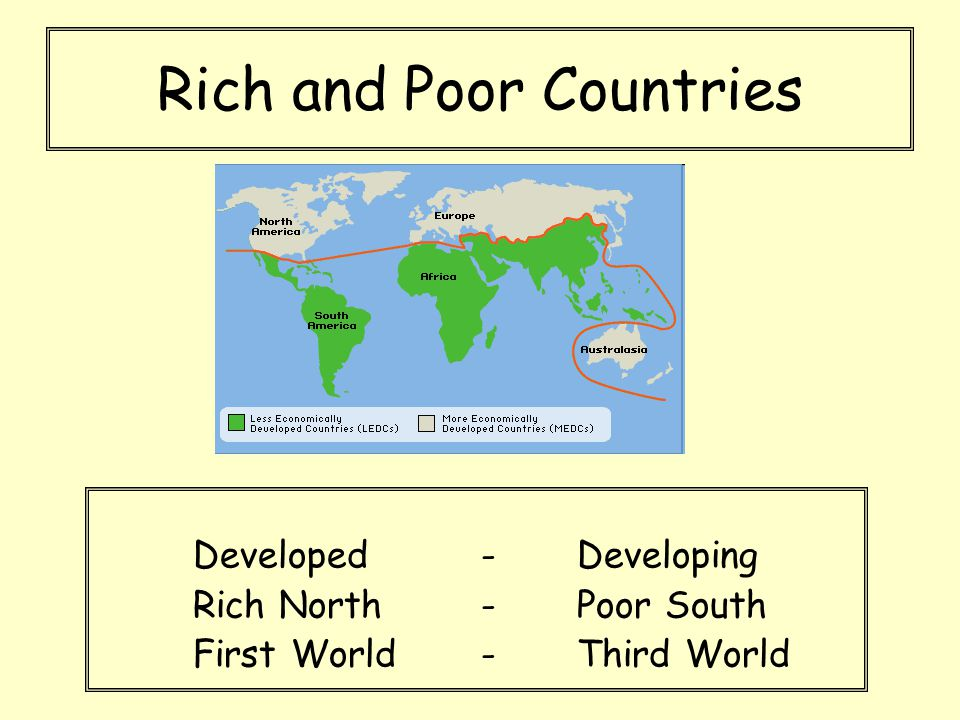 The Politics Of Aid Ppt Video Online Download - Rich and poor countries
