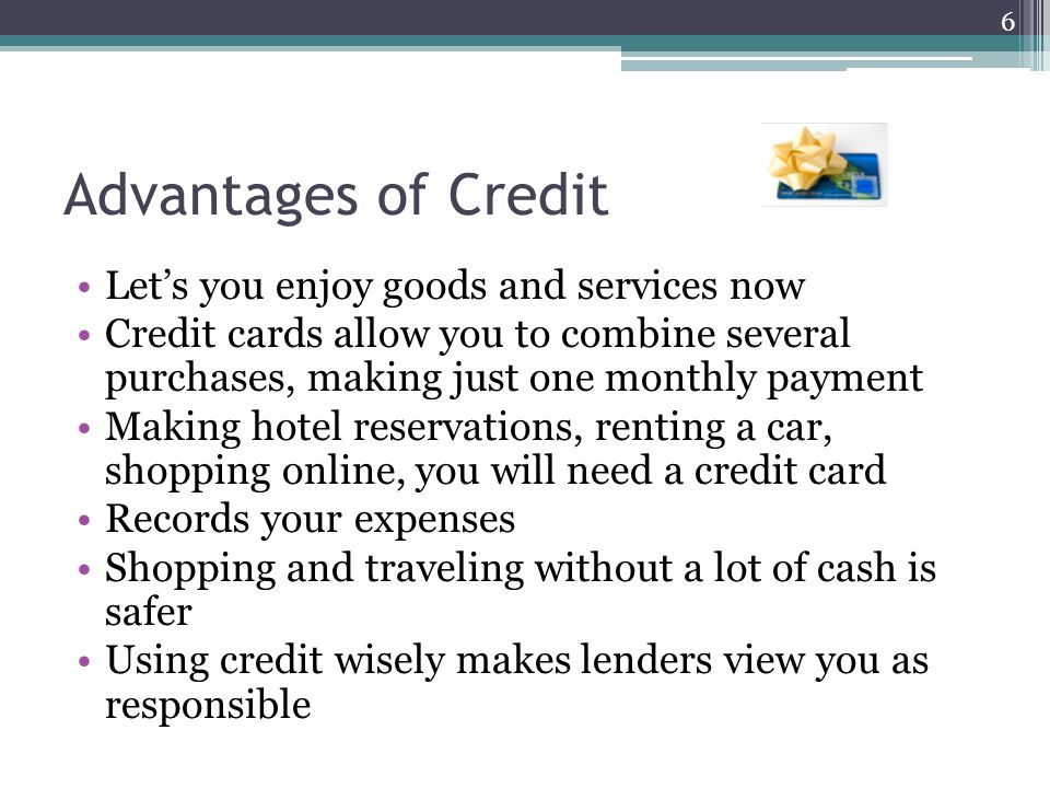 advantages of credit card Yes, there are advantages of credit cards the rich love them maybe you can too learn how the plastic can give you power.