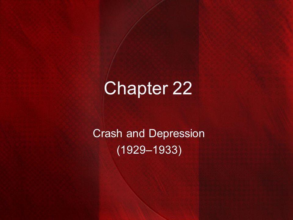 Crash and Depression (1929–1933)
