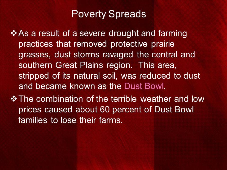 Poverty Spreads