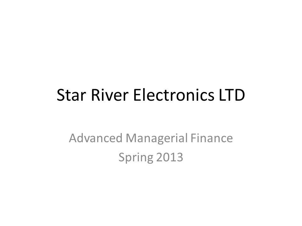 Star River Electronics LTD