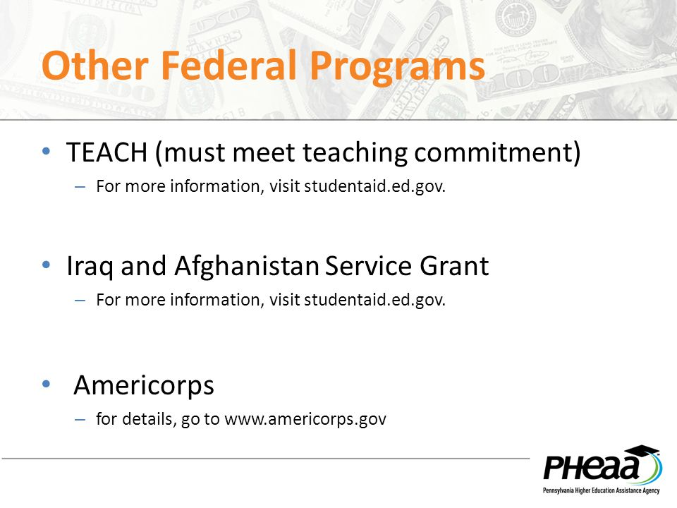 Other Federal Programs