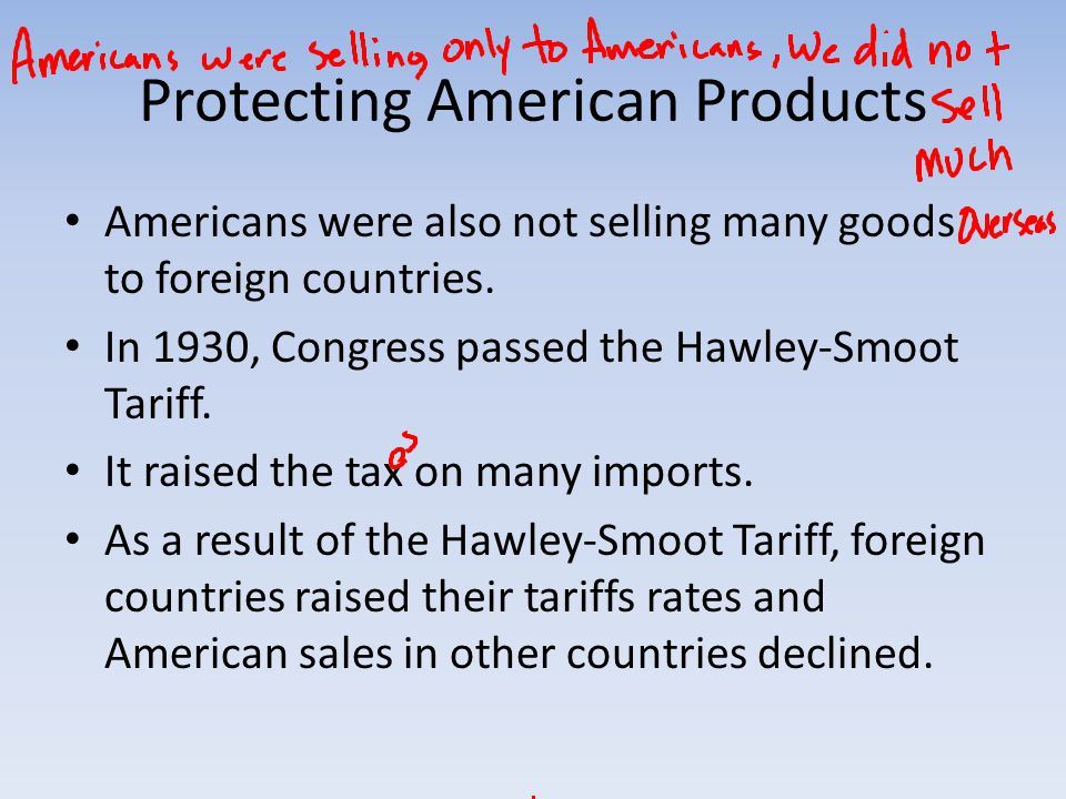 Protecting American Products