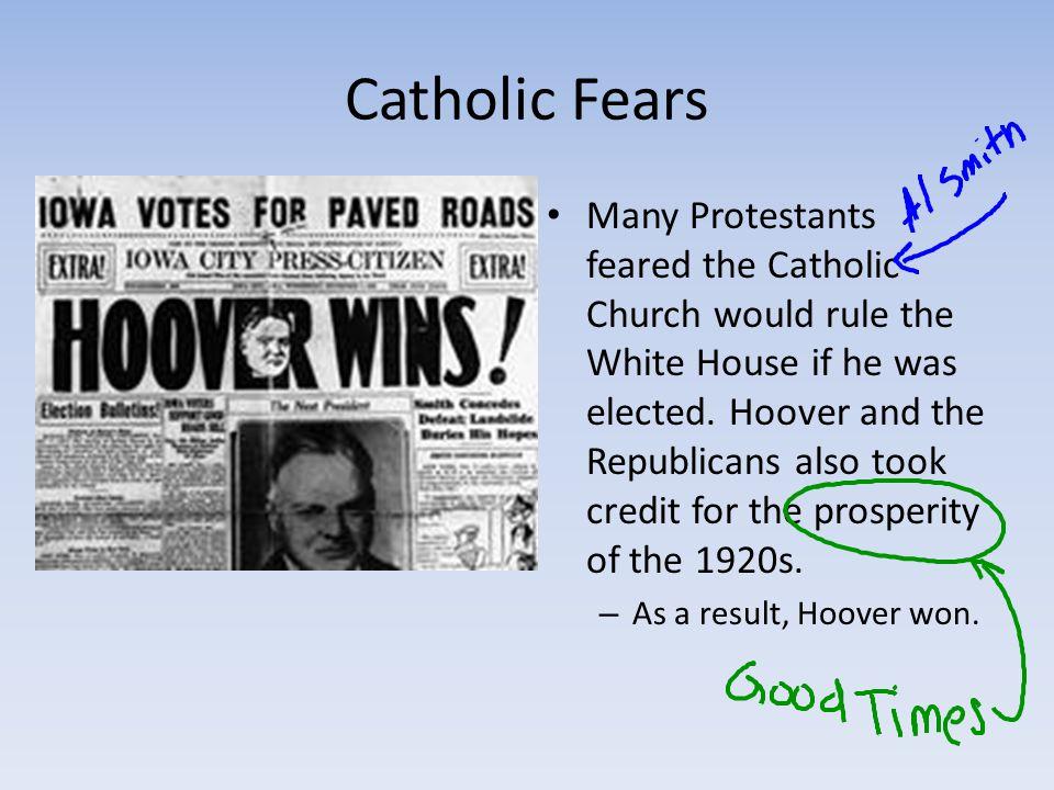 Catholic Fears