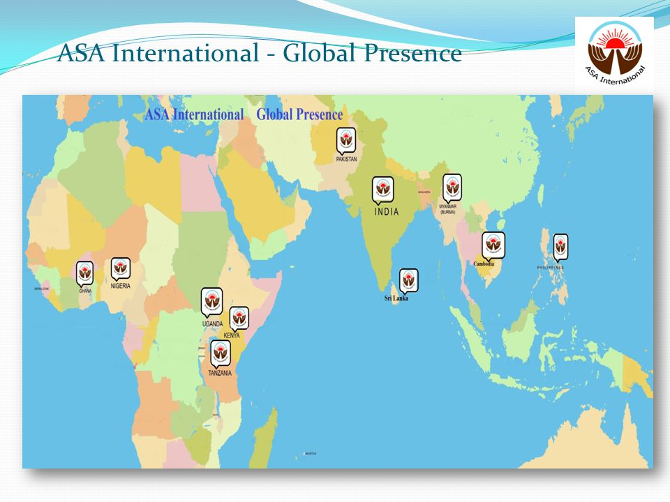 ASA International - Global Presence