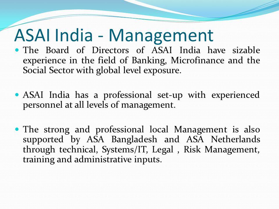 ASAI India - Management