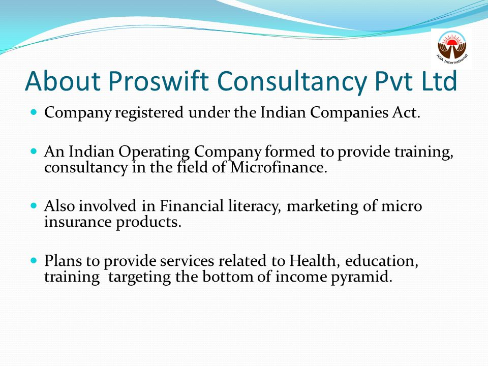 About Proswift Consultancy Pvt Ltd