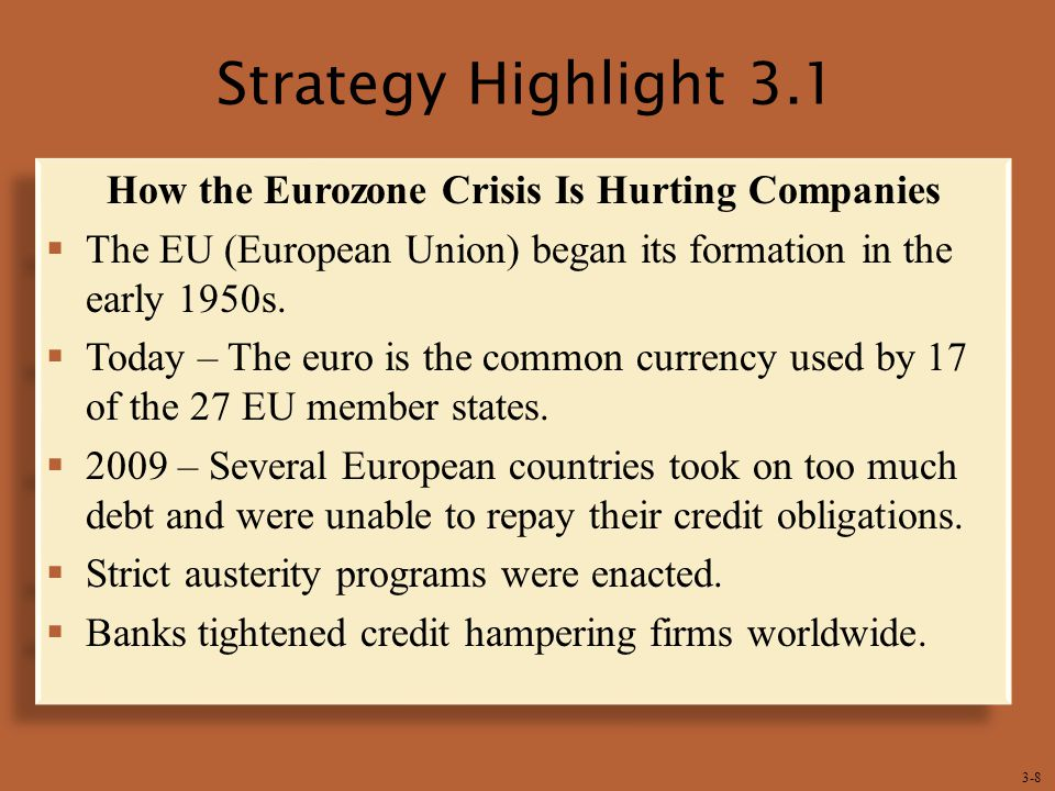 How the Eurozone Crisis Is Hurting Companies
