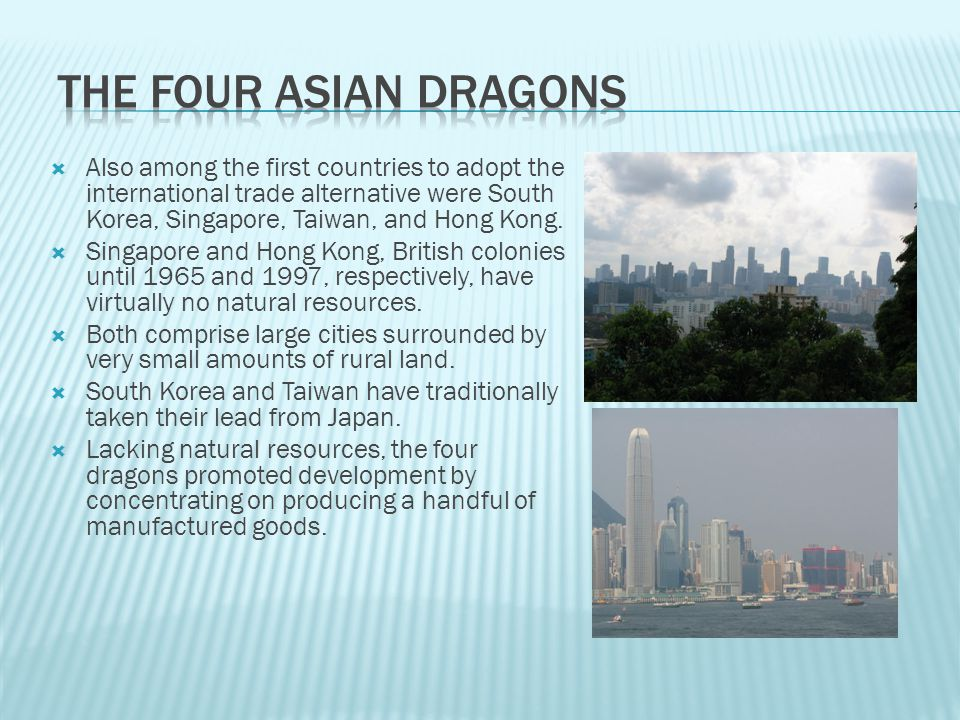 The Four Asian Dragons