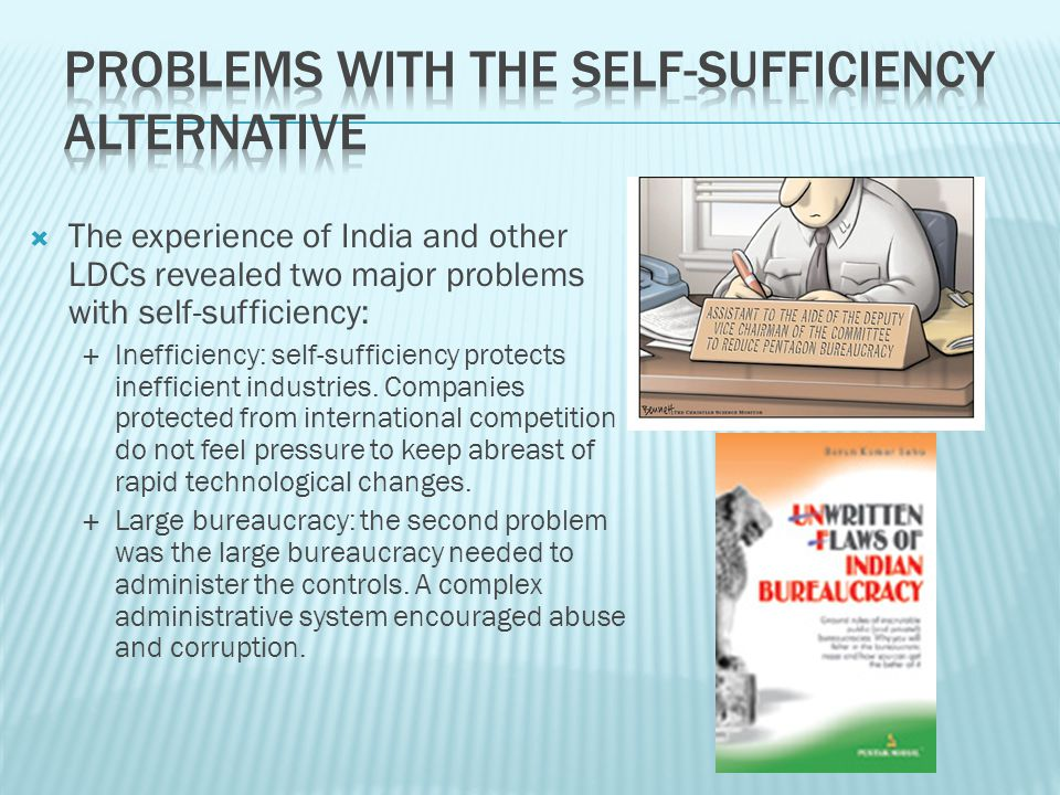 Problems with the Self-Sufficiency Alternative