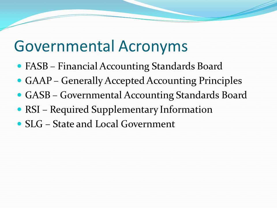 2 tco a the governmental accounting standards board Established in 1973, the financial accounting standards board (fasb)  the collective mission of the fasb, the governmental accounting standards board.