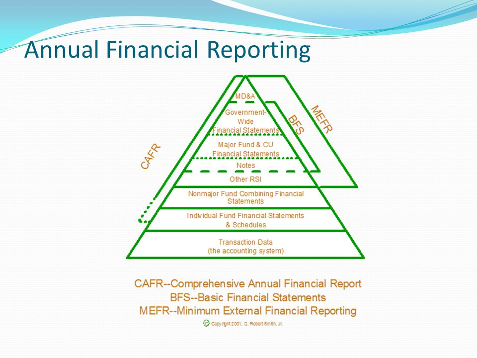 Annual Financial Reporting
