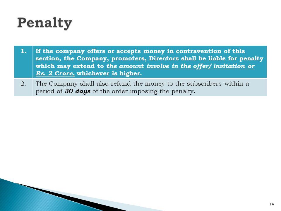 Penalty 1.