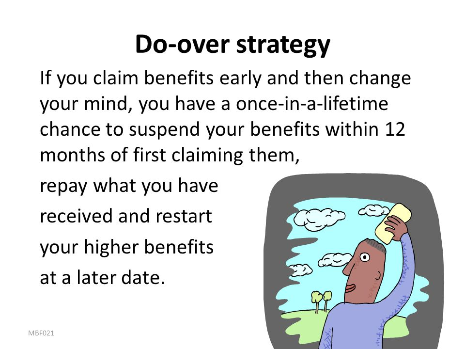 Do-over strategy
