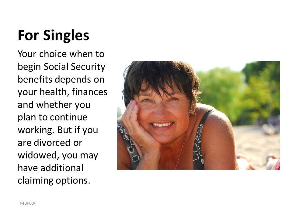 For Singles