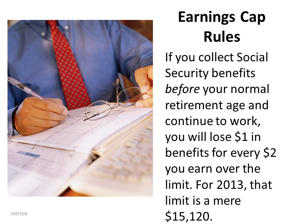 Earnings Cap Rules
