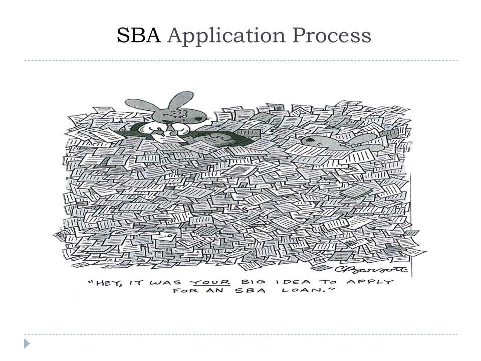 SBA Application Process