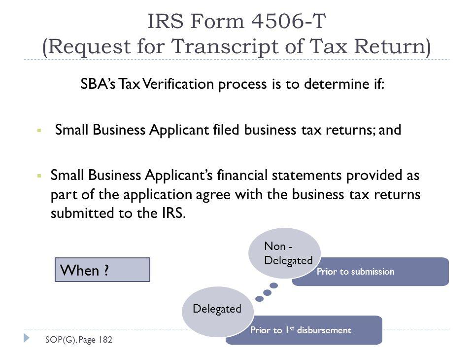 Business Tax Business Tax Transcript