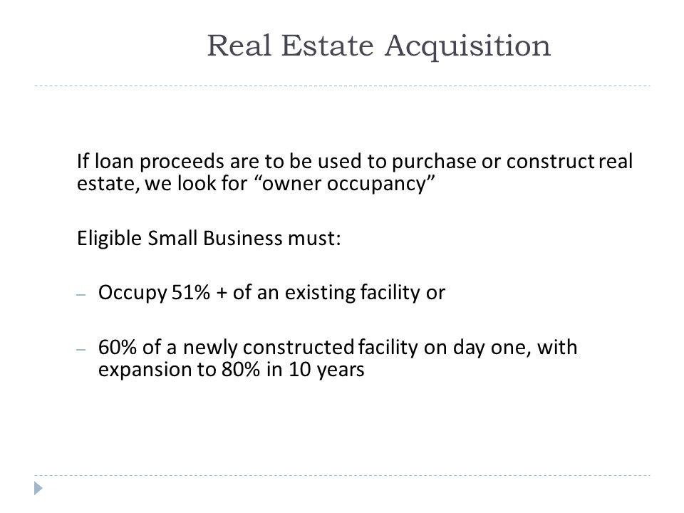 Real Estate Acquisition