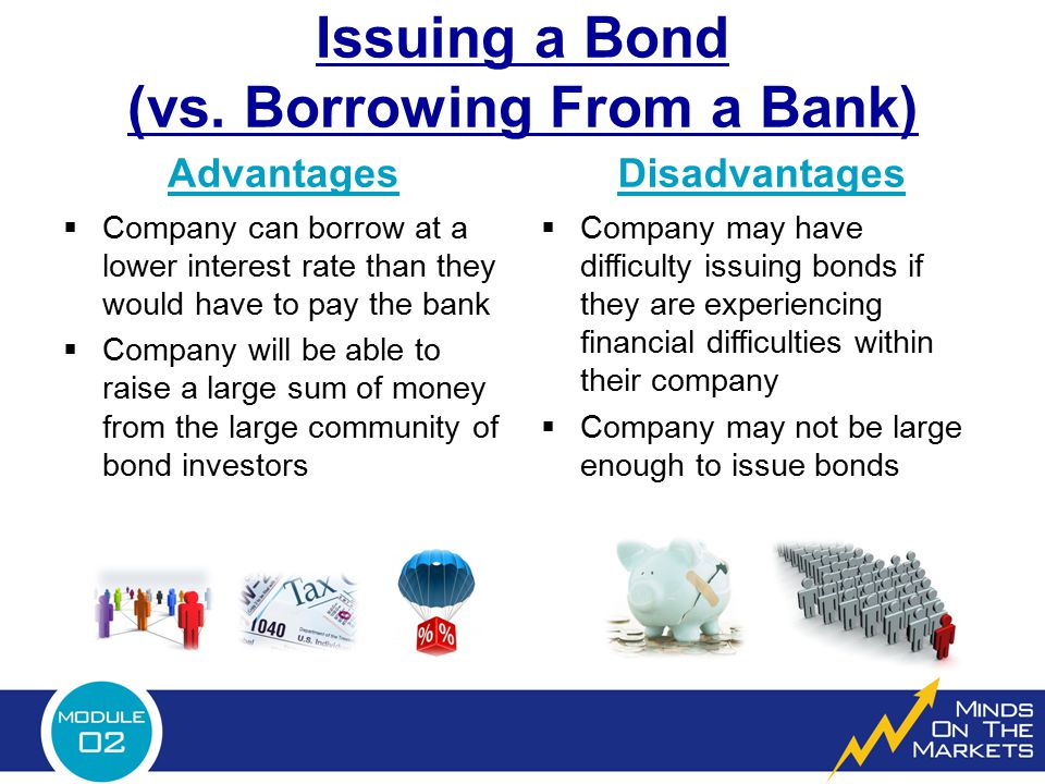 Issuing a Bond (vs. Borrowing From a Bank)