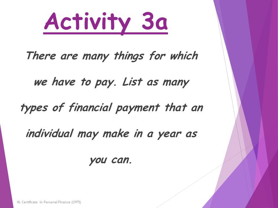 Activity 3a