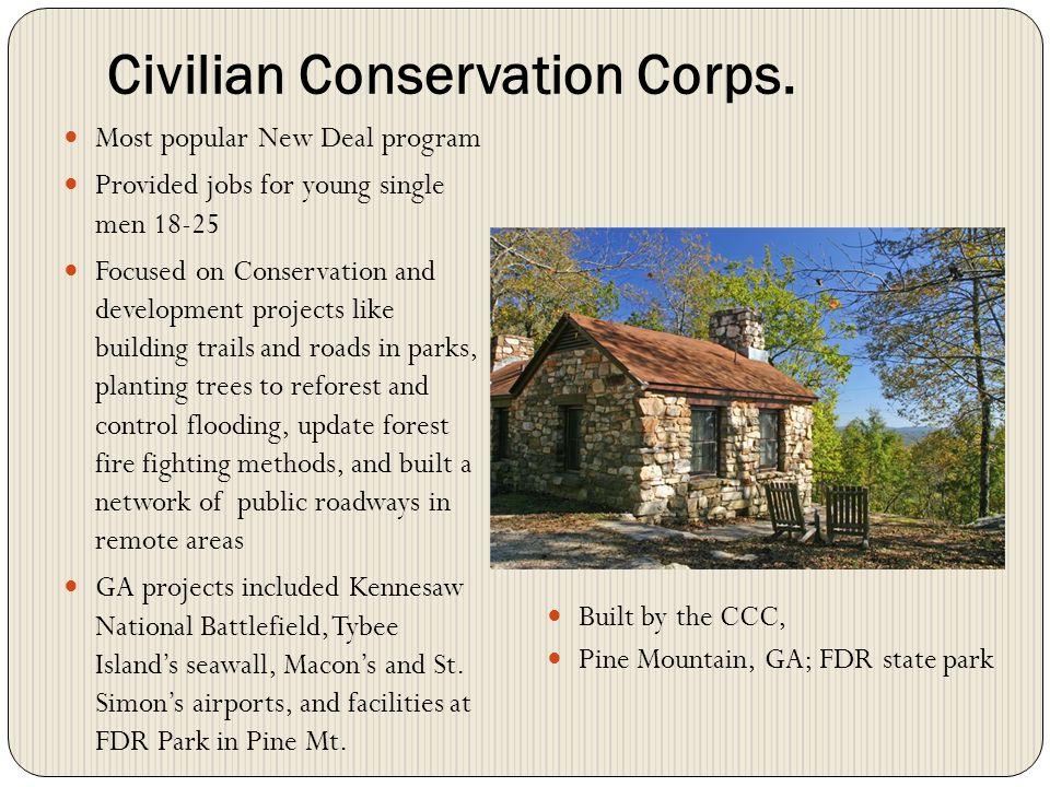 Civilian Conservation Corps.