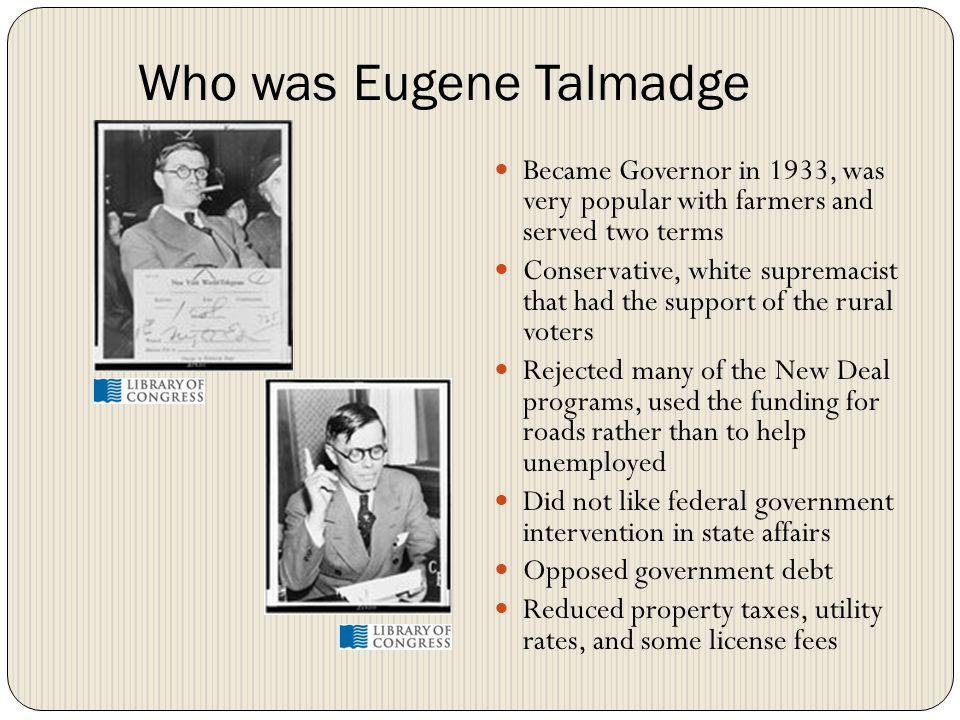 Who was Eugene Talmadge