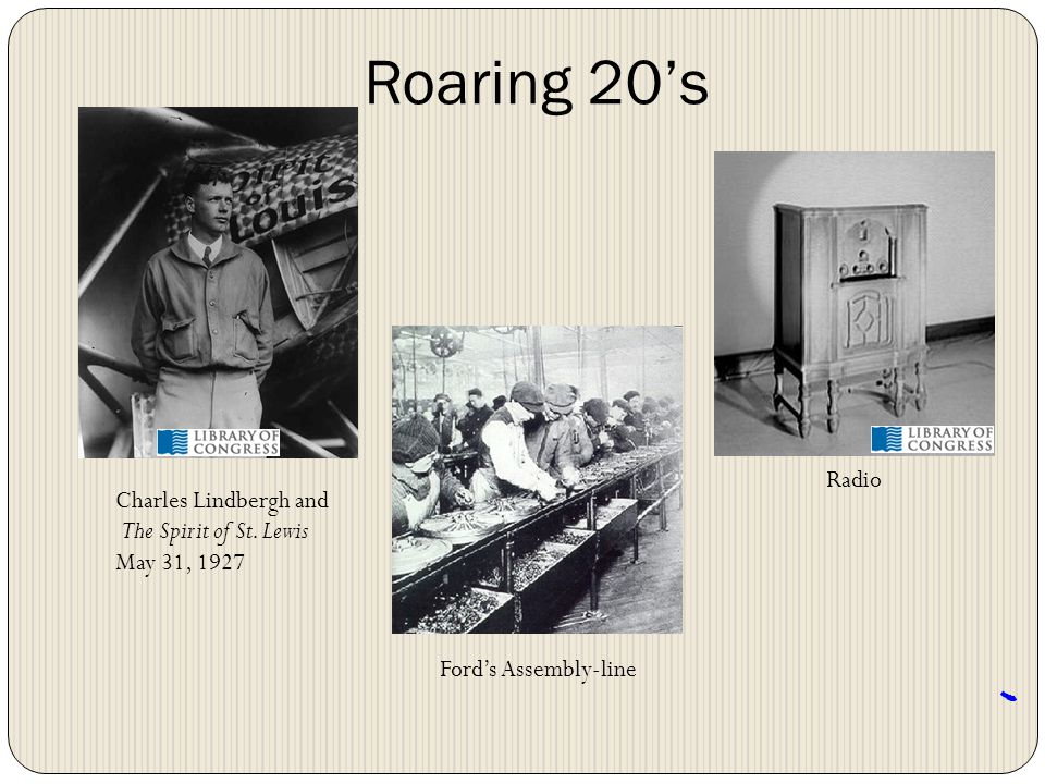Roaring 20's Radio Charles Lindbergh and The Spirit of St. Lewis