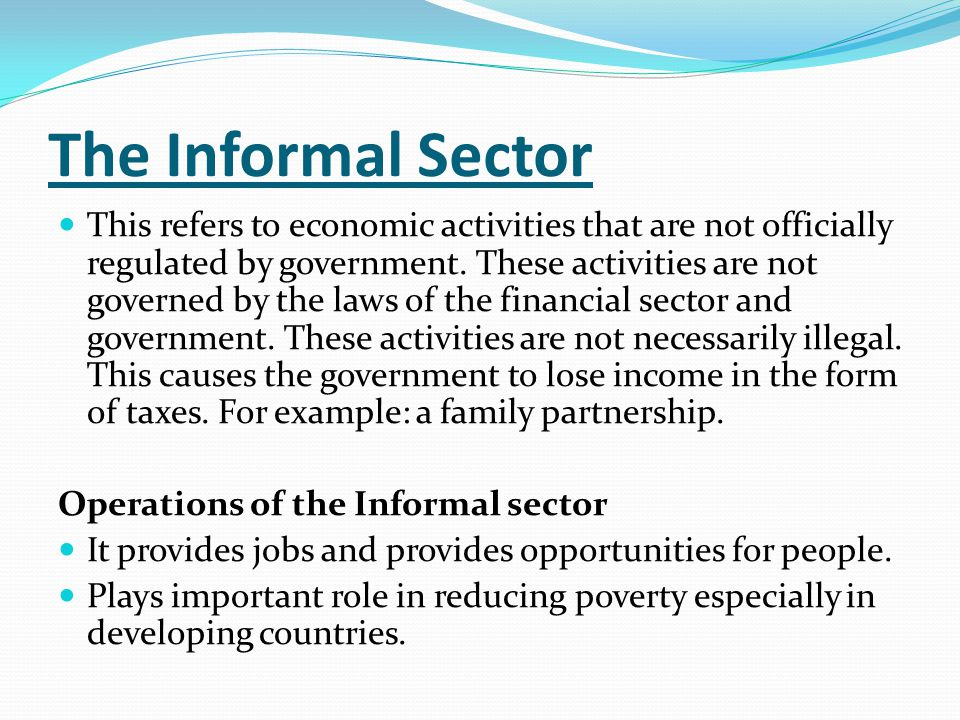 characteristics of 4 sectors of economy A mixed economy maintains a general balance between the public sector and the private sector there is competition as well as cooperation between the two sectors which are conducive for achieving a high rate of capital accumulation and economic growth.